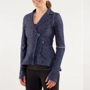 Lululemon Light Gray Ride On Jacket Size 8